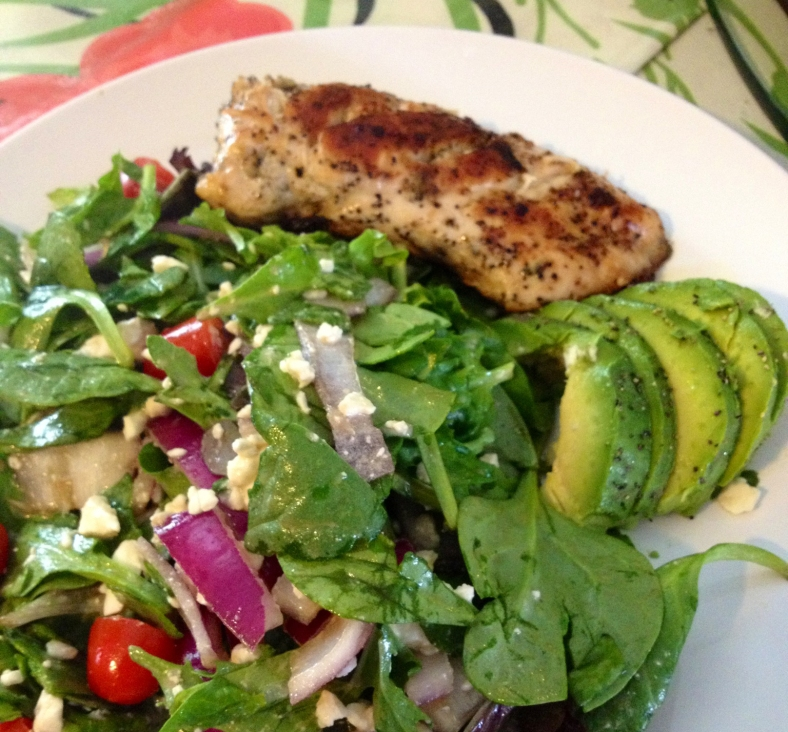 Krissp Grilled Chicken Salad